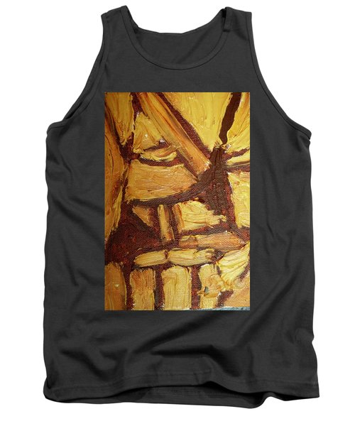 Abstract Lamp Again Tank Top by Shea Holliman