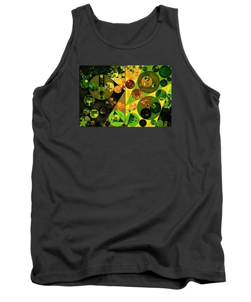 Abstract Painting - Barberry Tank Top