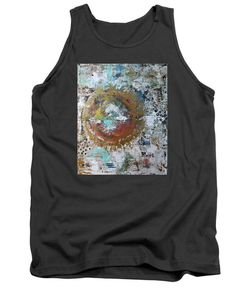 Abstract Paintng Tank Top