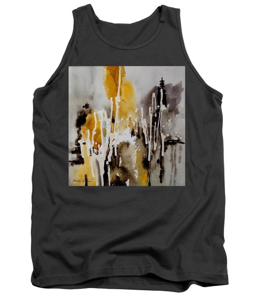 Abstract Scene Tank Top
