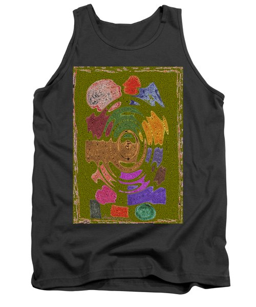 Abstract Shapes Tank Top by Joseph Baril