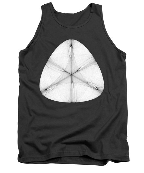 Abstract Shell Tank Top
