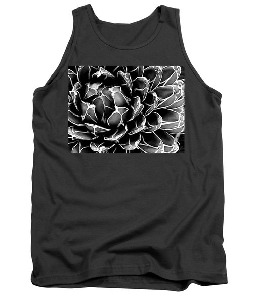 Abstract Succulent Tank Top by Ranjini Kandasamy
