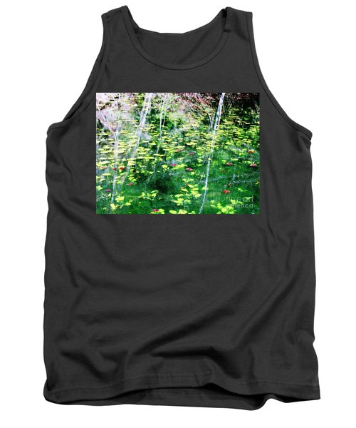 Abstract Water Tank Top by Melissa Stoudt