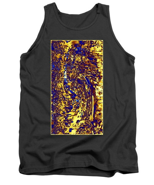 Tank Top featuring the digital art Abstractmosphere 3 by Will Borden