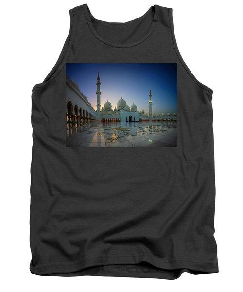 Abu Dhabi Grand Mosque Tank Top
