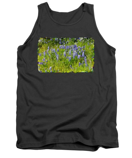 Abundance Of Blue Bonnets Tank Top