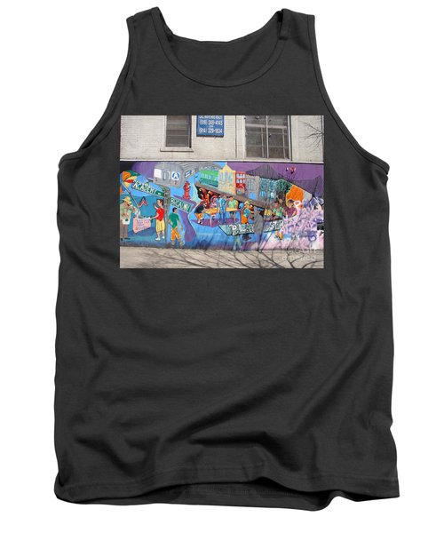 Academy Street Mural Tank Top by Cole Thompson