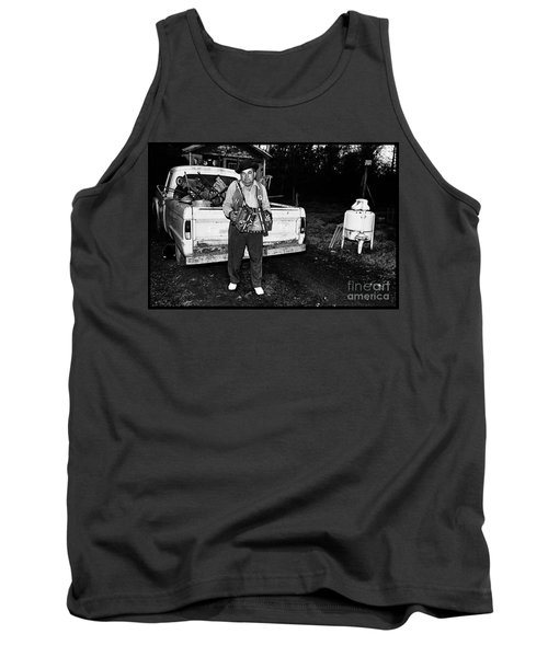 Accordion Scrapper Man  Tank Top