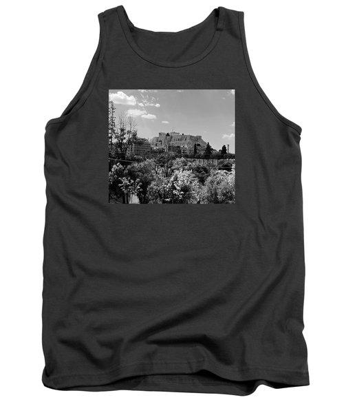 Acropolis Black And White Tank Top