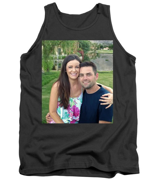 Tank Top featuring the painting Adam And Lys by Michael Pickett