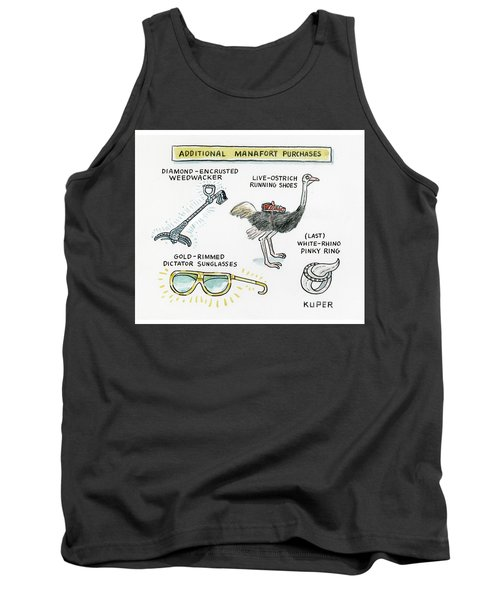 Additional Manafort Purchases Tank Top