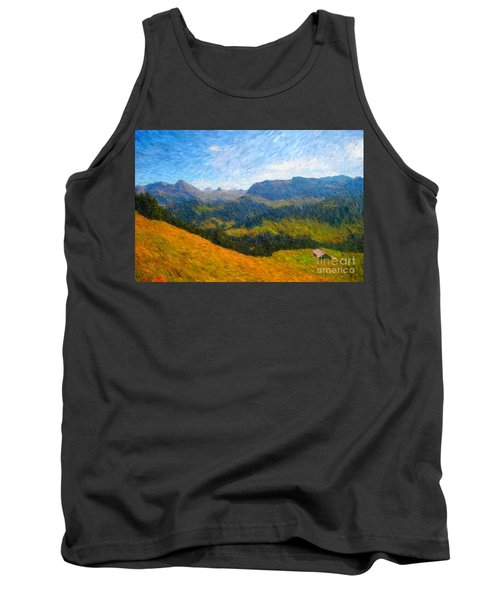 Adelboden Countryside Tank Top by Gerhardt Isringhaus