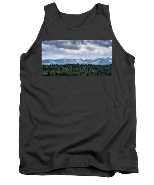Tank Top featuring the photograph Adirondack High Peaks During Winter - New York by Brendan Reals