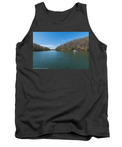 Tank Top featuring the photograph Weeks Creek At Admiral Heights by Charles Kraus