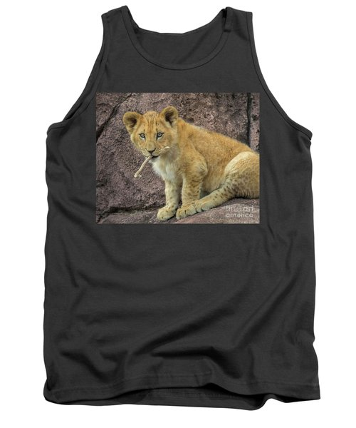 Adorable Lion Cub Tank Top