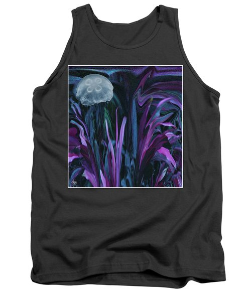 Adrift In The Mermaid Cafe Tank Top