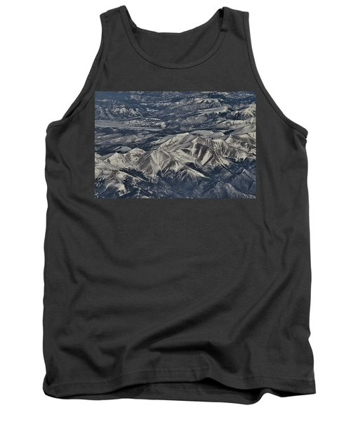 Tank Top featuring the photograph Aerial 4 by Steven Richman