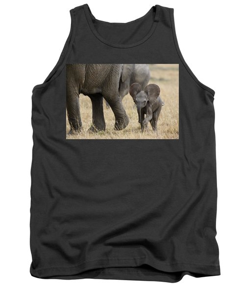 African Elephant Mother And Under 3 Tank Top