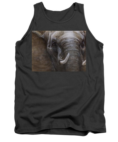 African Elephant Tank Top