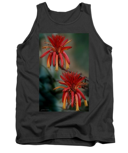 African Fire Lily Tank Top