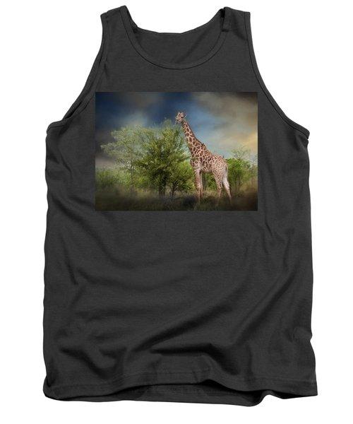 African Giraffe Tank Top