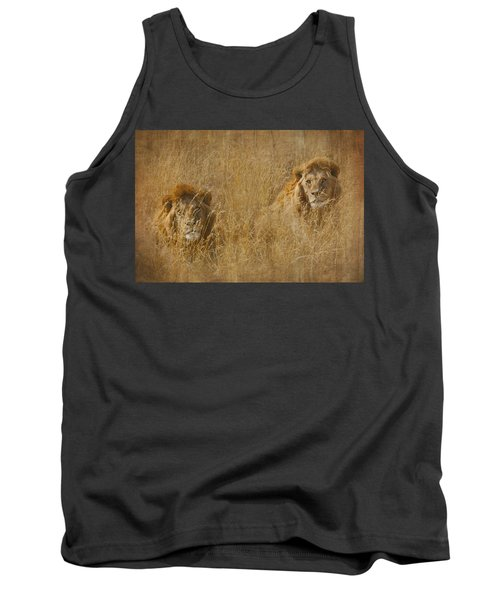 African Lion Brothers Tank Top