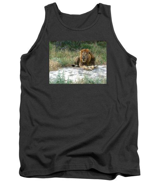 African Lion Tank Top