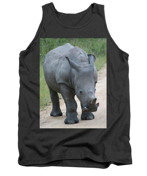 African Rhino Tank Top