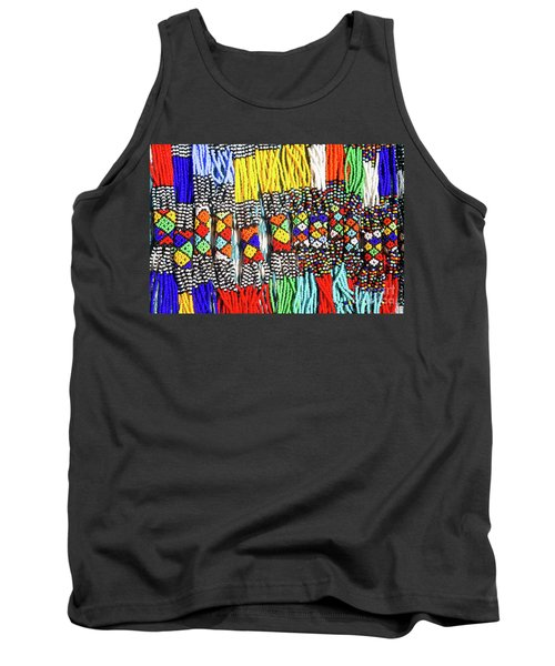 African Tribal Necklaces Tank Top
