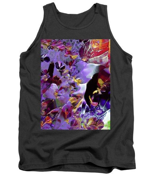 African Violet Awake #2 Tank Top