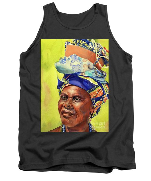 African Woman Tank Top