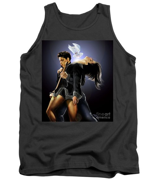 After Doves Cry They Fly Prince Tank Top