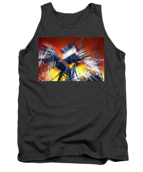 Tank Top featuring the photograph After Effect by Wayne Sherriff