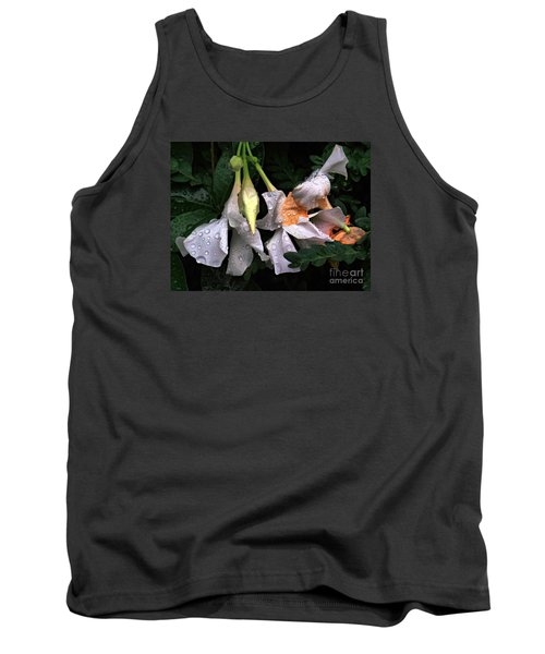 After The Rain - Flower Photography Tank Top