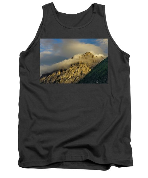 After The Rain In The Austrian Alps. Tank Top by Ulrich Burkhalter