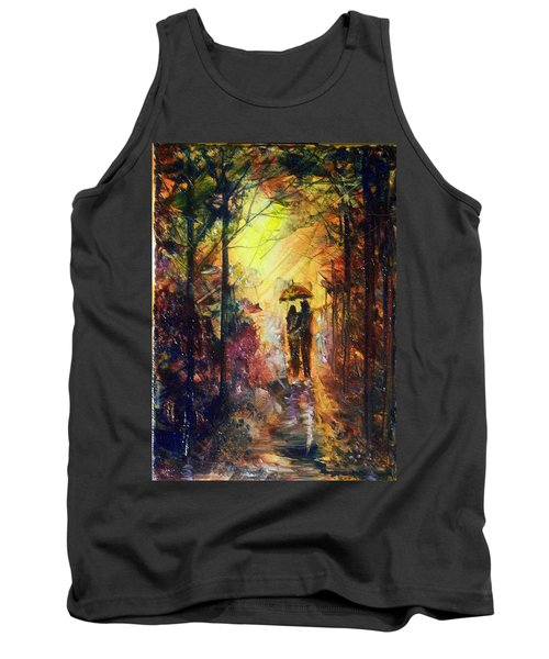 After The Rain Tank Top by Raymond Doward