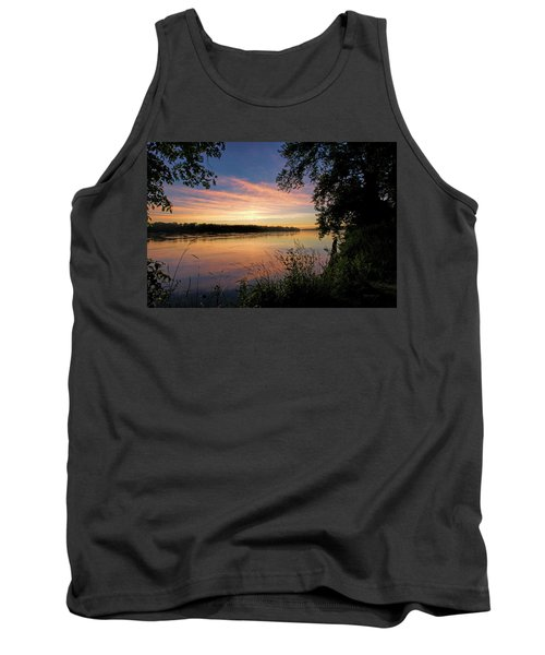 Tank Top featuring the photograph Afterglow by Cricket Hackmann