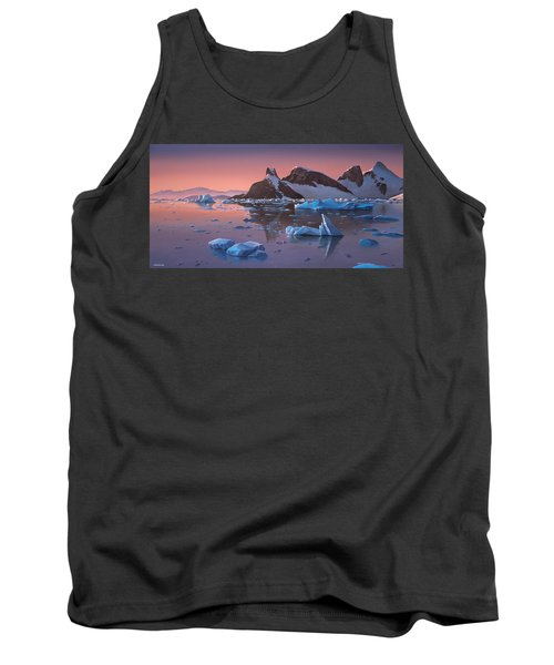 Afterglow Lemarie Channel Antarctica Tank Top