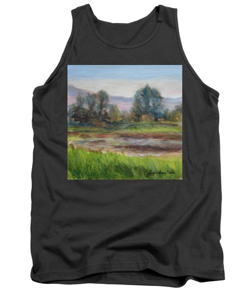 Afternoon At Sauvie Island Wildlife Viewpoint Tank Top