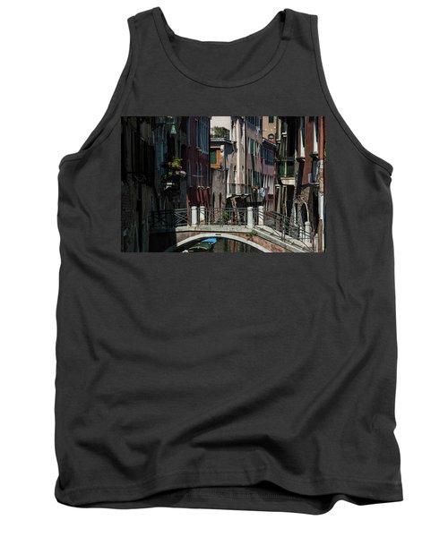 Tank Top featuring the photograph Afternoon In Venice by Alex Lapidus