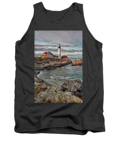 Afternoon Light At Cape Neddick Tank Top