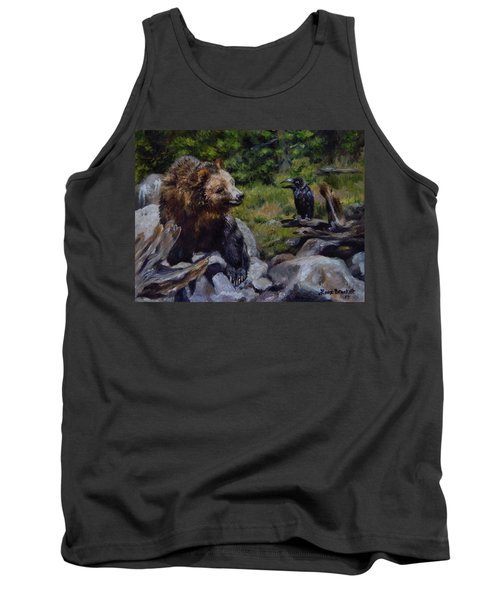 Afternoon Neigh-bear Tank Top