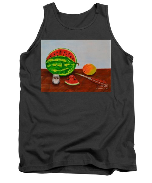 Afternoon Summer Treat Tank Top by Melvin Turner