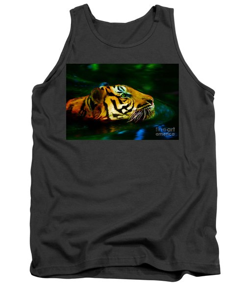 Afternoon Swim - Tiger Tank Top