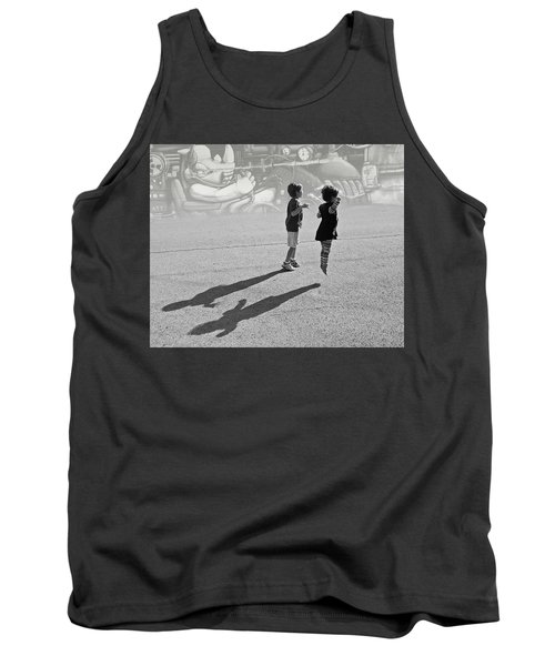Against Gravity Tank Top by Christopher McKenzie