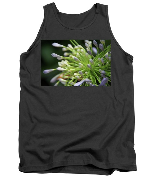 Tank Top featuring the photograph Agapanthus, The Spider Flower by Yoel Koskas