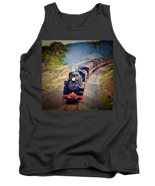 Age Of Steam Tank Top by Wallaroo Images