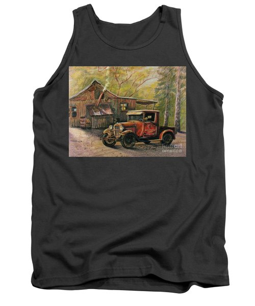 Agent's Visit Tank Top by Marilyn Smith