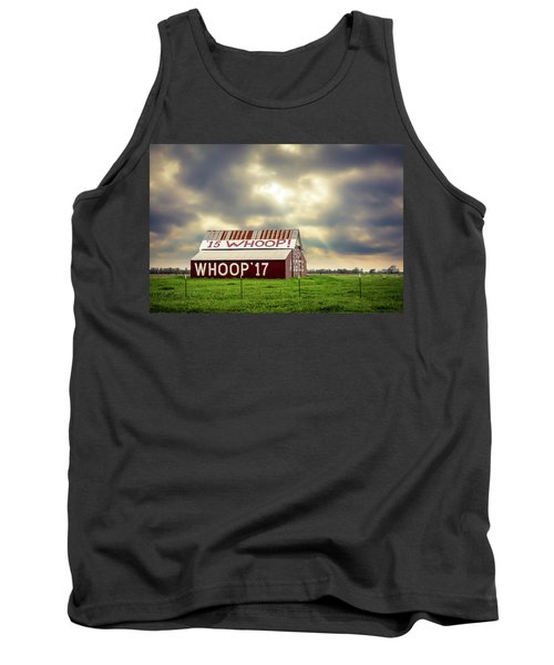 Tank Top featuring the photograph Aggie Barn by David Morefield